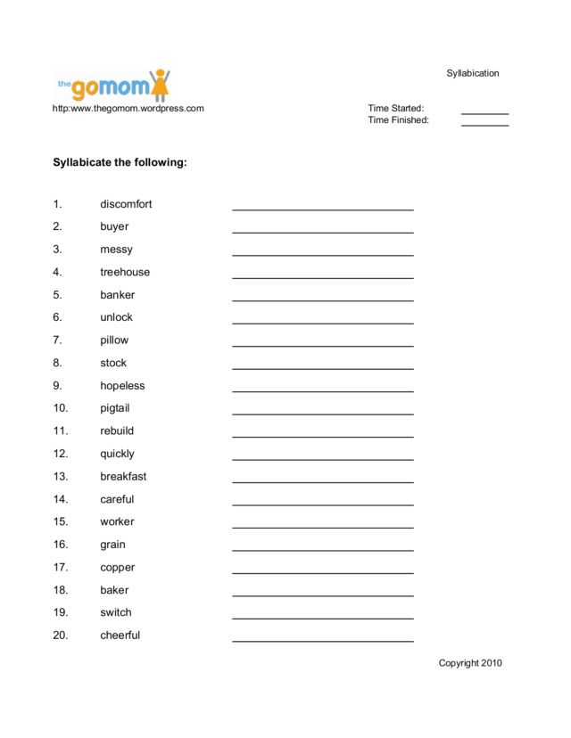 28 syllabication rules worksheet 17 best images about how to teach spelling rules on. Black Bedroom Furniture Sets. Home Design Ideas