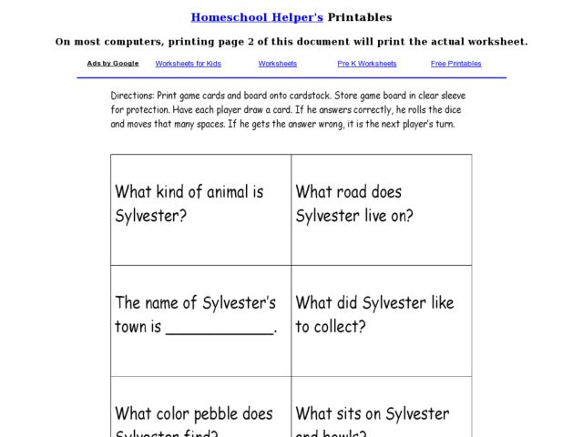 Printables Sylvester And The Magic Pebble Worksheets and the magic pebble worksheets davezan sylvester davezan