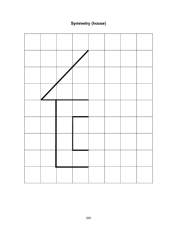 Drawing Lines Of Symmetry Worksheet : First grade math symmetry worksheets and shapes