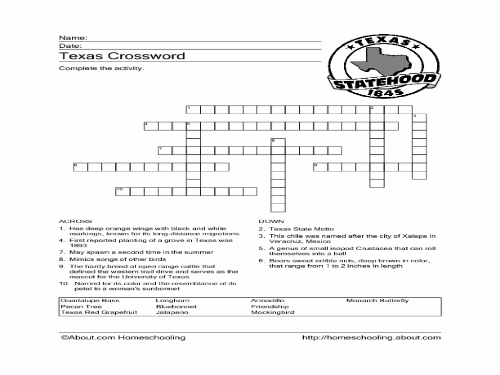 Worksheets 7th Grade History Worksheets 7th grade history crossword puzzles worksheets for kids texas printable intrepidpath