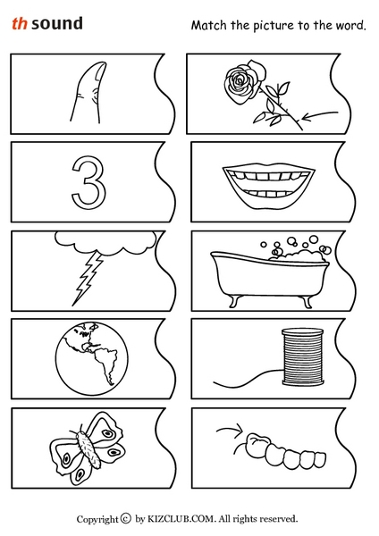 Printables Th Sound Worksheets collection of th sound worksheets bloggakuten