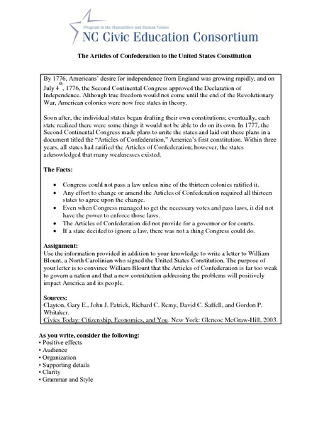 articles of confederation worksheet free worksheets library download and print worksheets. Black Bedroom Furniture Sets. Home Design Ideas