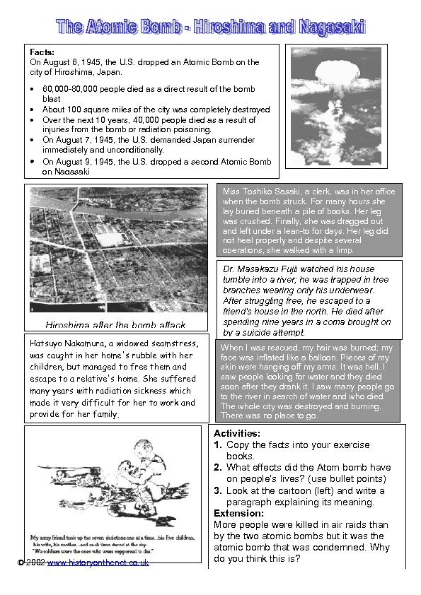 atomic bomb worksheet free worksheets library download and print worksheets free on comprar. Black Bedroom Furniture Sets. Home Design Ideas