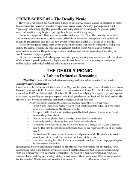 Inductive and deductive reasoning worksheets pdf