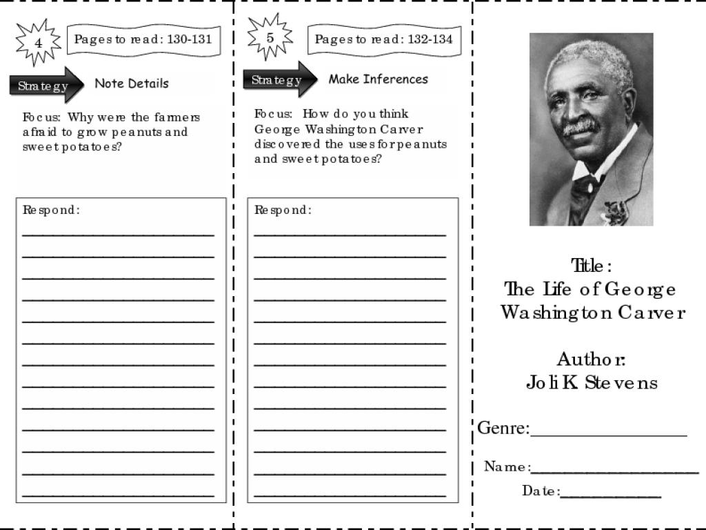 George washington carver crafts - George Washington Carver Worksheet Free Worksheets Library