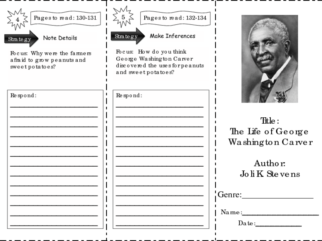 George Washington Carver Worksheet - Syndeomedia