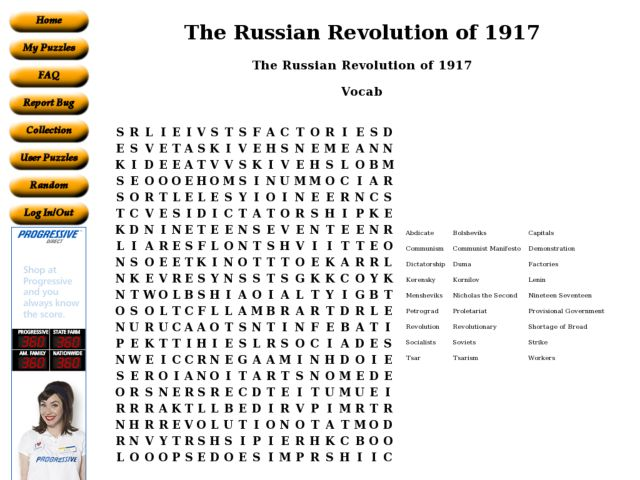 Worksheets Russian Revolution Worksheet the russian revolution of 1917 6th 8th grade worksheet lesson planet