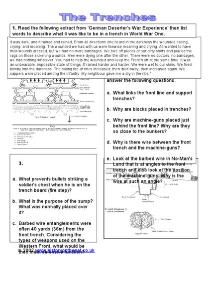 all worksheets world war 1 worksheets printable worksheets guide for children and parents. Black Bedroom Furniture Sets. Home Design Ideas