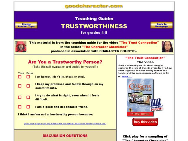 Printables Trustworthiness Worksheets trustworthiness worksheets davezan 4th 8th grade worksheet lesson planet
