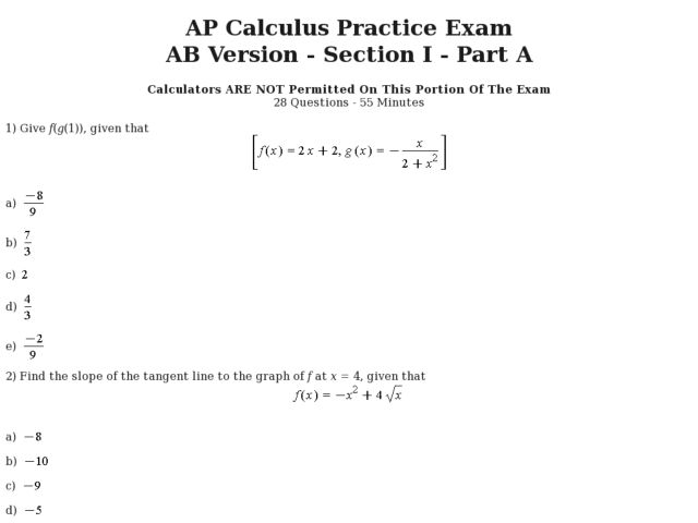 Printables Ap Calculus Worksheets Jigglist Thousands of – Calculus Worksheets