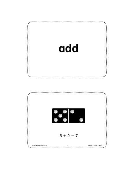 Math vocabulary worksheet template fun with math for Vocabulary graphic organizer templates