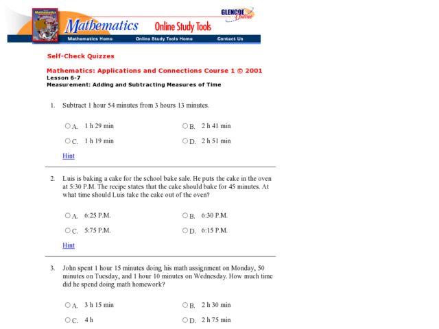 units of time worksheet time worksheets time worksheets for – Adding and Subtracting Time Worksheets