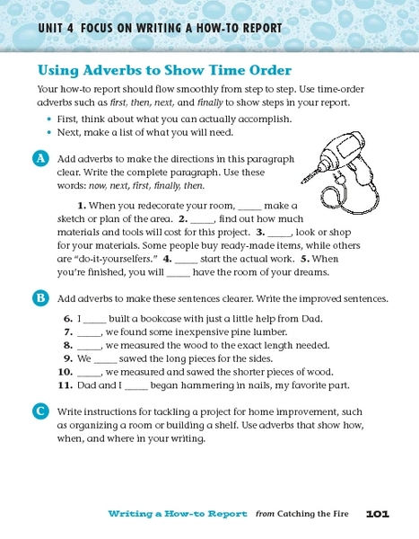 Grammar worksheets for grade 3 adverbs