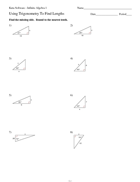all worksheets trigonometry worksheets free printable preeschool and kindergarten worksheets. Black Bedroom Furniture Sets. Home Design Ideas