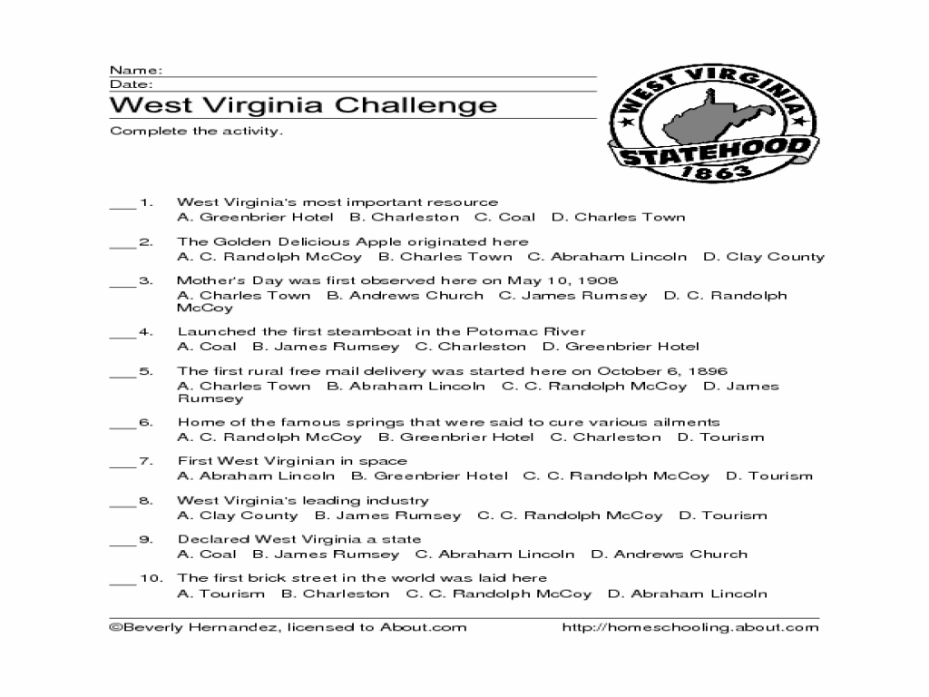 Virginia Guidelines Worksheets - The Best and Most Comprehensive ...