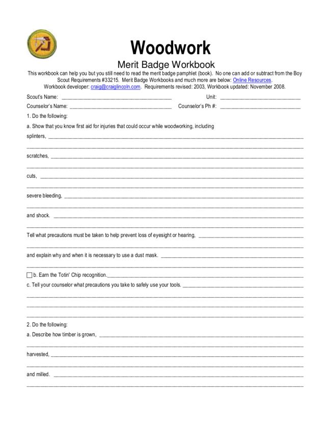 Worksheets Photography Merit Badge Worksheet Chicochino