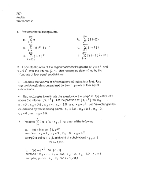 Printables Evaluating Functions Worksheet evaluating functions worksheet davezan davezan