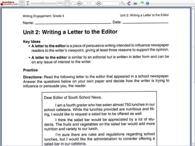 how to write a letter to the editor Write a letter to the editor or read star readers' letters at thestarcom visit us for the opportunity to submit your views on the news.