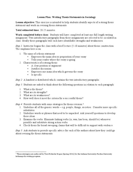 frontier thesis lesson plan