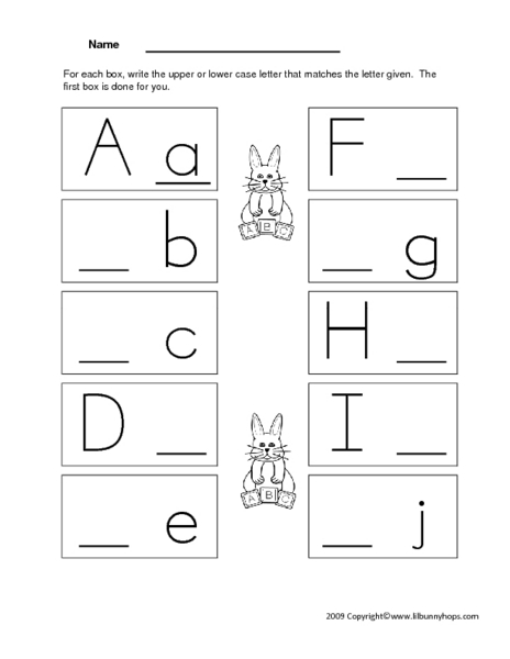 Common Worksheets » Letter J Worksheets Kindergarten - Preschool ...