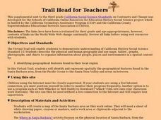 Trail Head for Teachers Lesson Plan