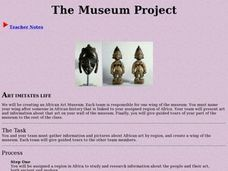 The Museum Project Activities & Project