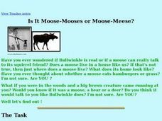 Is It Moose-Mooses or Moose-Meese? Lesson Plan