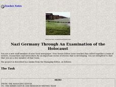Nazi Germany Through An Examination of the Holocaust Lesson Plan