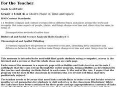 A Child's Place in Time and Space Lesson Plan