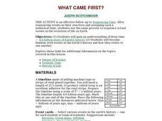 What came first? Lesson Plan