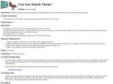 Can You Match Them? Lesson Plan