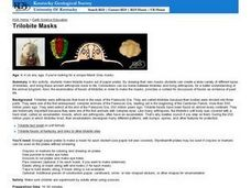Trilobite Masks Lesson Plan