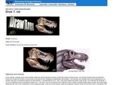 Draw T. rex Lesson Plan