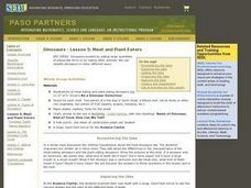 Meat and Plant Eaters Lesson Plan