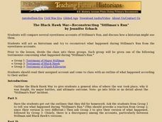 "The Black Hawk War-Reconstructing ""Stillman's Run"" Lesson Plan"