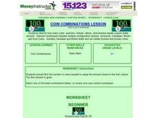 Coin Combinations Lesson Lesson Plan