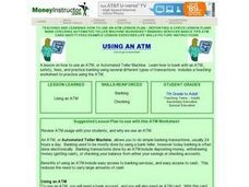 Using An ATM Lesson Plan