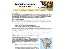 Analyzing Journey North Maps Lesson Plan