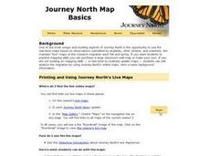 Journey North Map Basics Lesson Plan