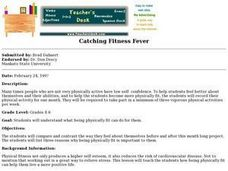 Catching Fitness Fever Lesson Plan