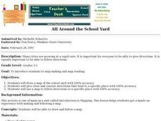 All Around the School Yard Lesson Plan