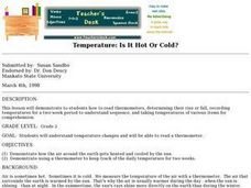 Temperature: Is it Hot or Cold? Lesson Plan