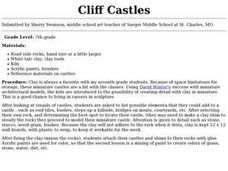 Cliff Castles Lesson Plan