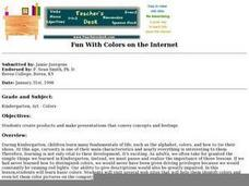 Fun With Colors on the Internet Lesson Plan