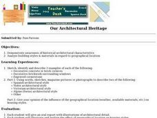 Our Architectural Heritage Lesson Plan