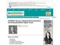 ASPIRIN (Assess Simulated Presentation Involving Realistic Injury Now) Lesson Plan