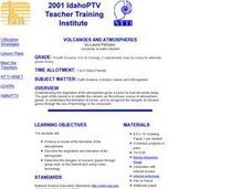 Volcanoes And Atmospheres Lesson Plan