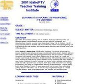Lightning It's Shocking, It's Frightening, It's Lightning! Lesson Plan