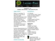 Simple Machines - Inclined Plane Lesson Plan