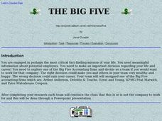 The Big Five Lesson Plan
